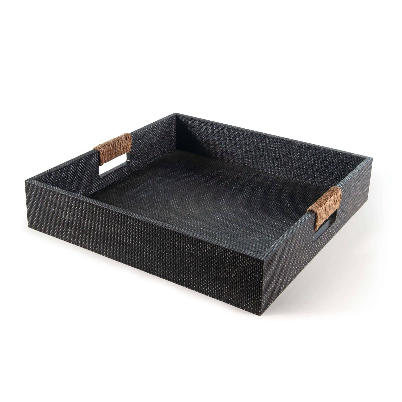 Logia Square Tray Large Grey | Regina Andrew