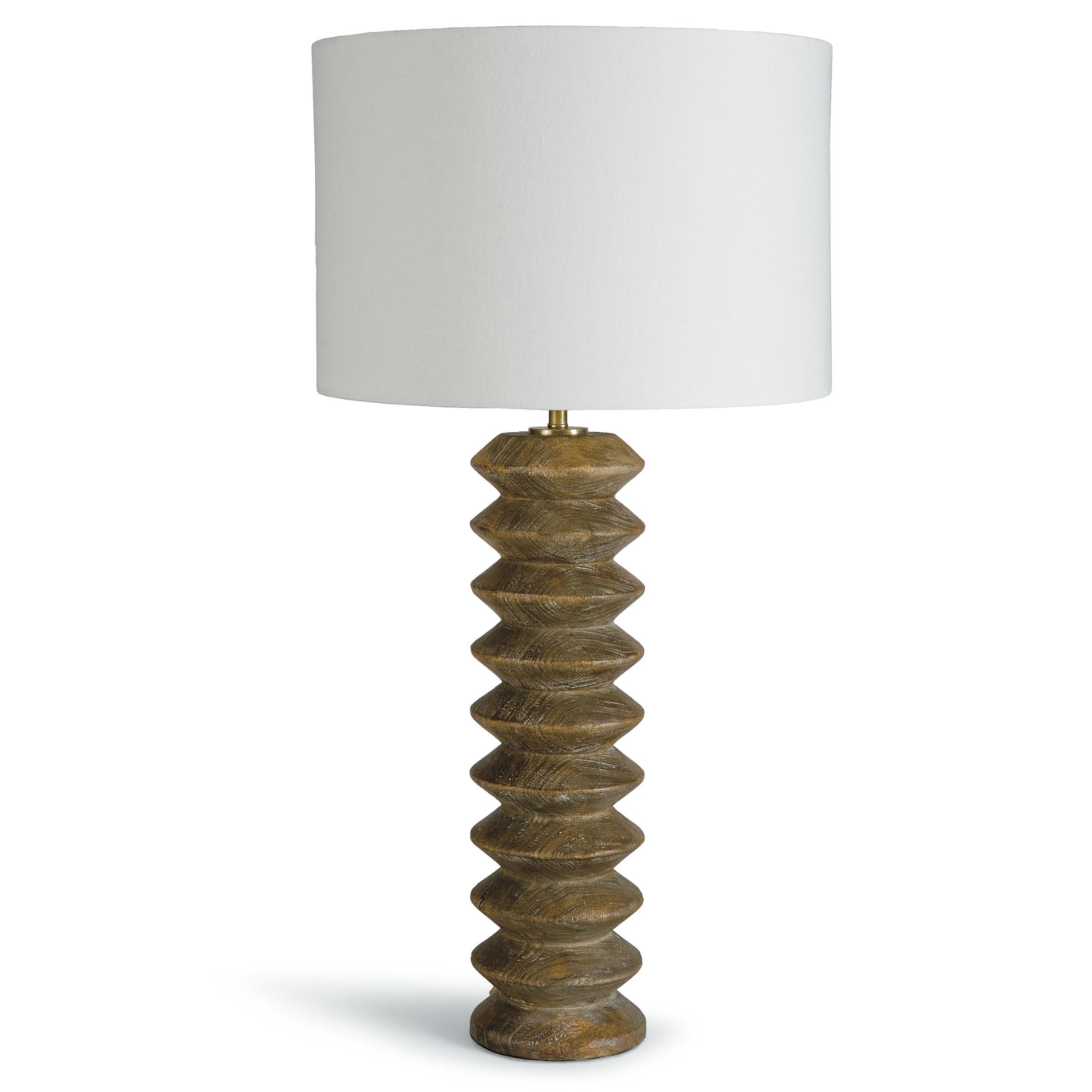 Accordion Table Lamp Natural | Regina Andrew
