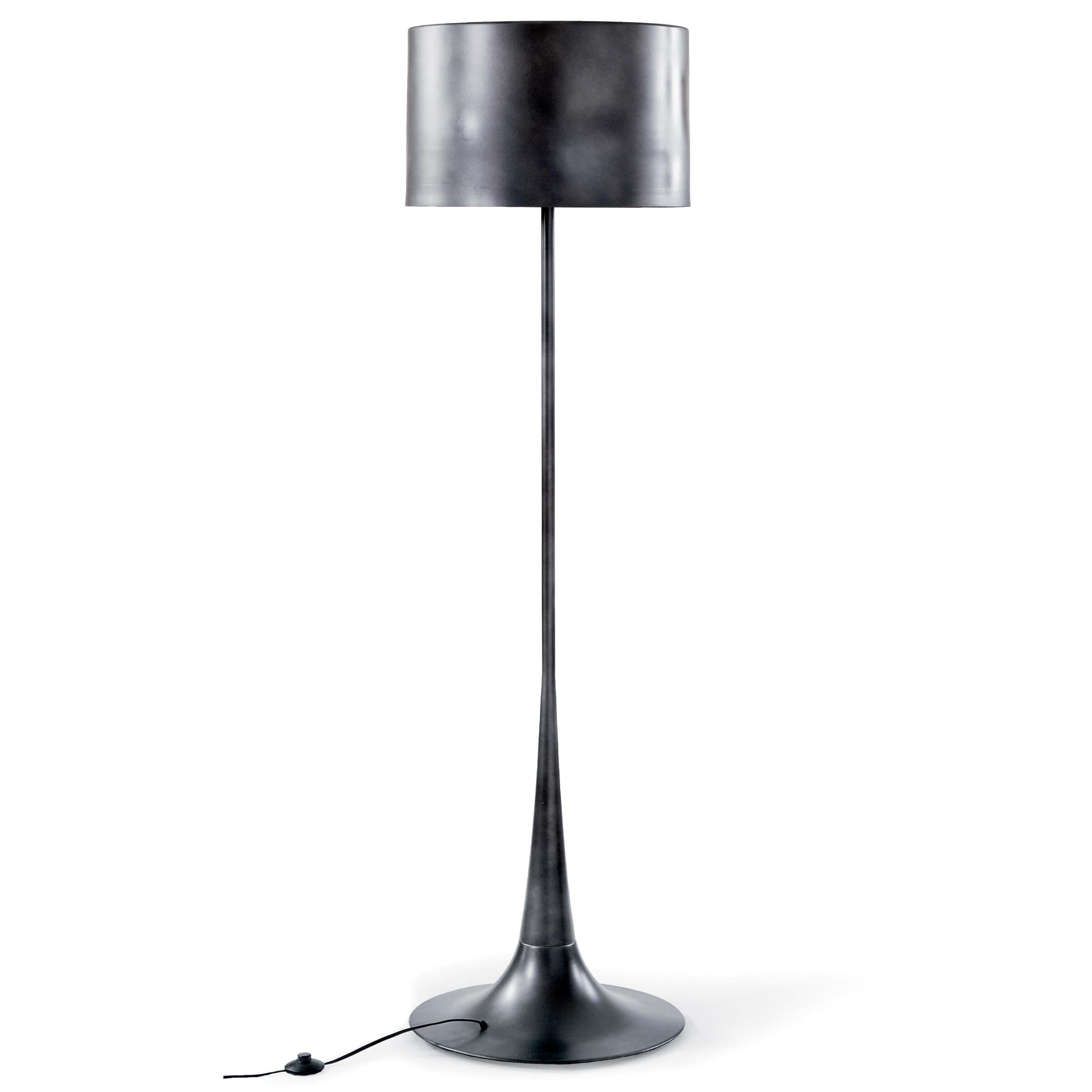 Trilogy Floor Lamp Black Iron | Regina Andrew
