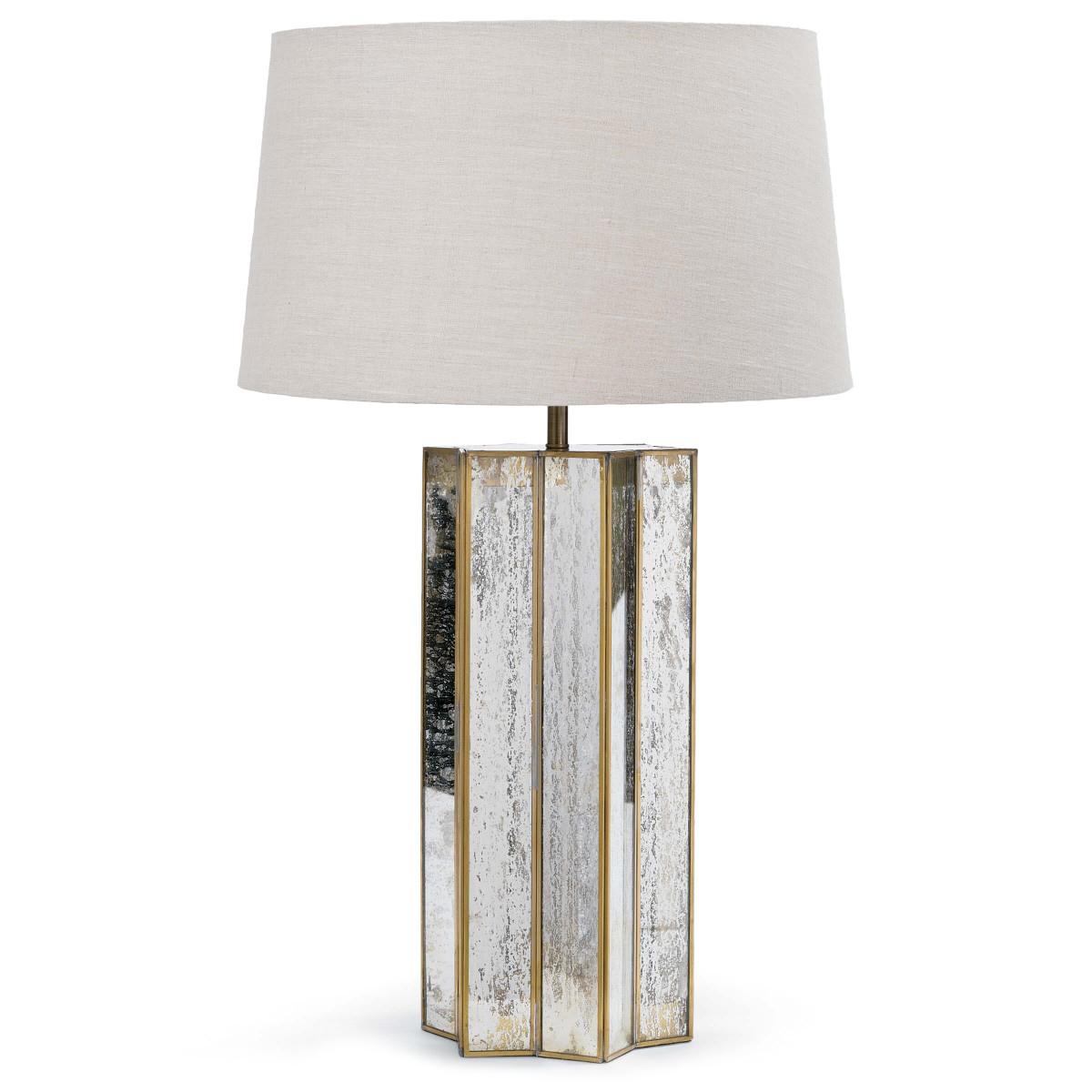 Alexa Table Lamp Antique Mercury | Regina Andrew