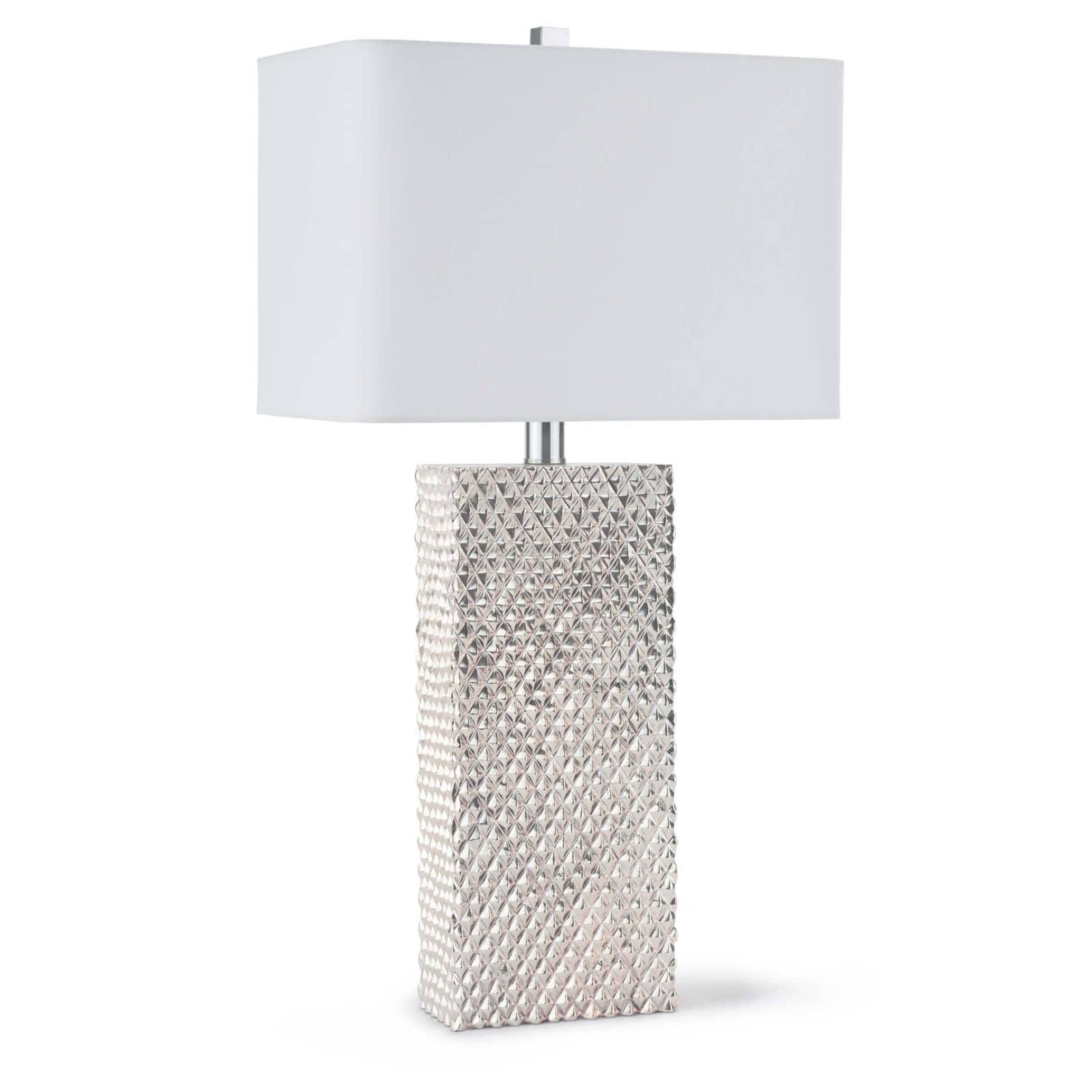 Platinum Table Lamp   Regina Andrew