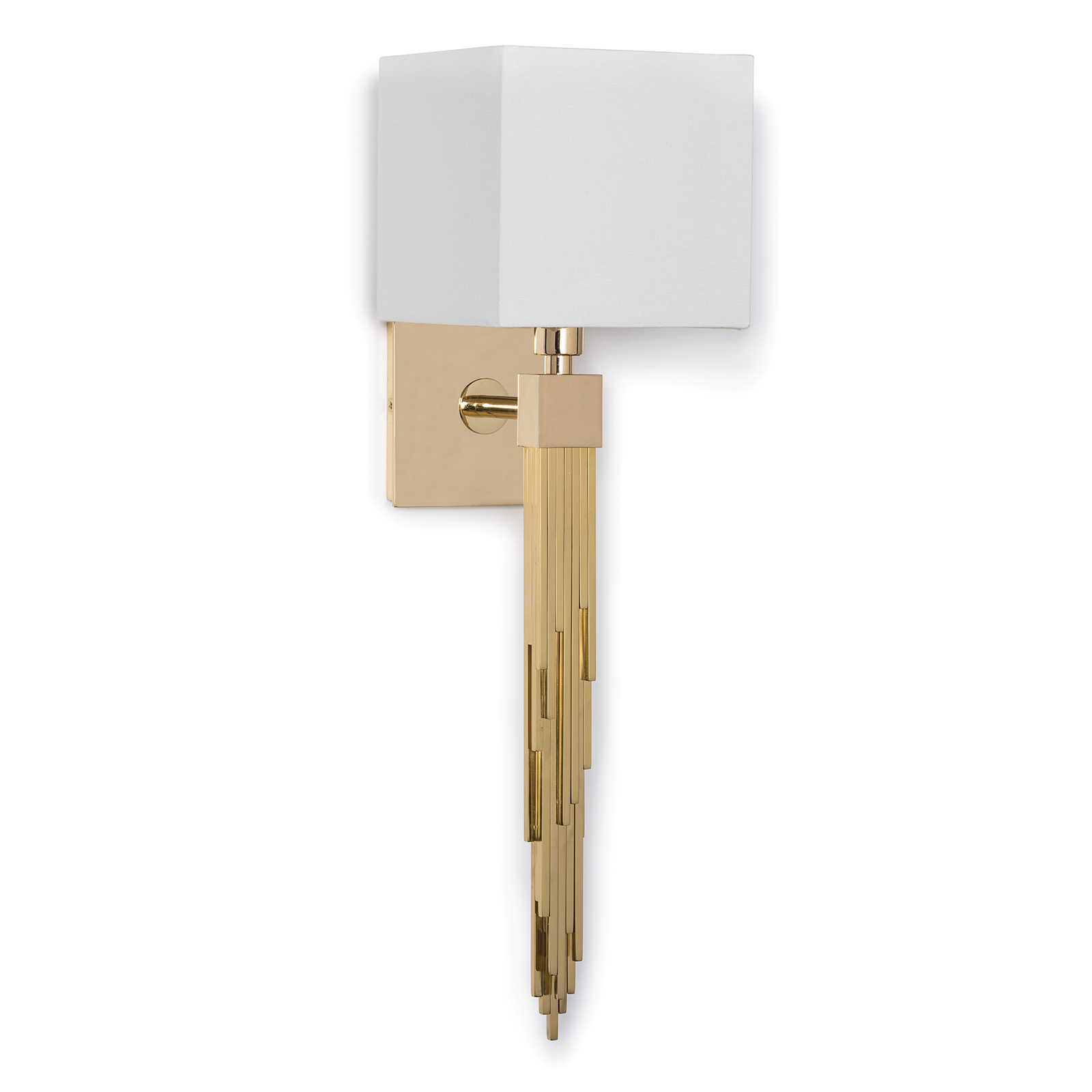 Tower Sconce Polished Brass | Regina Andrew