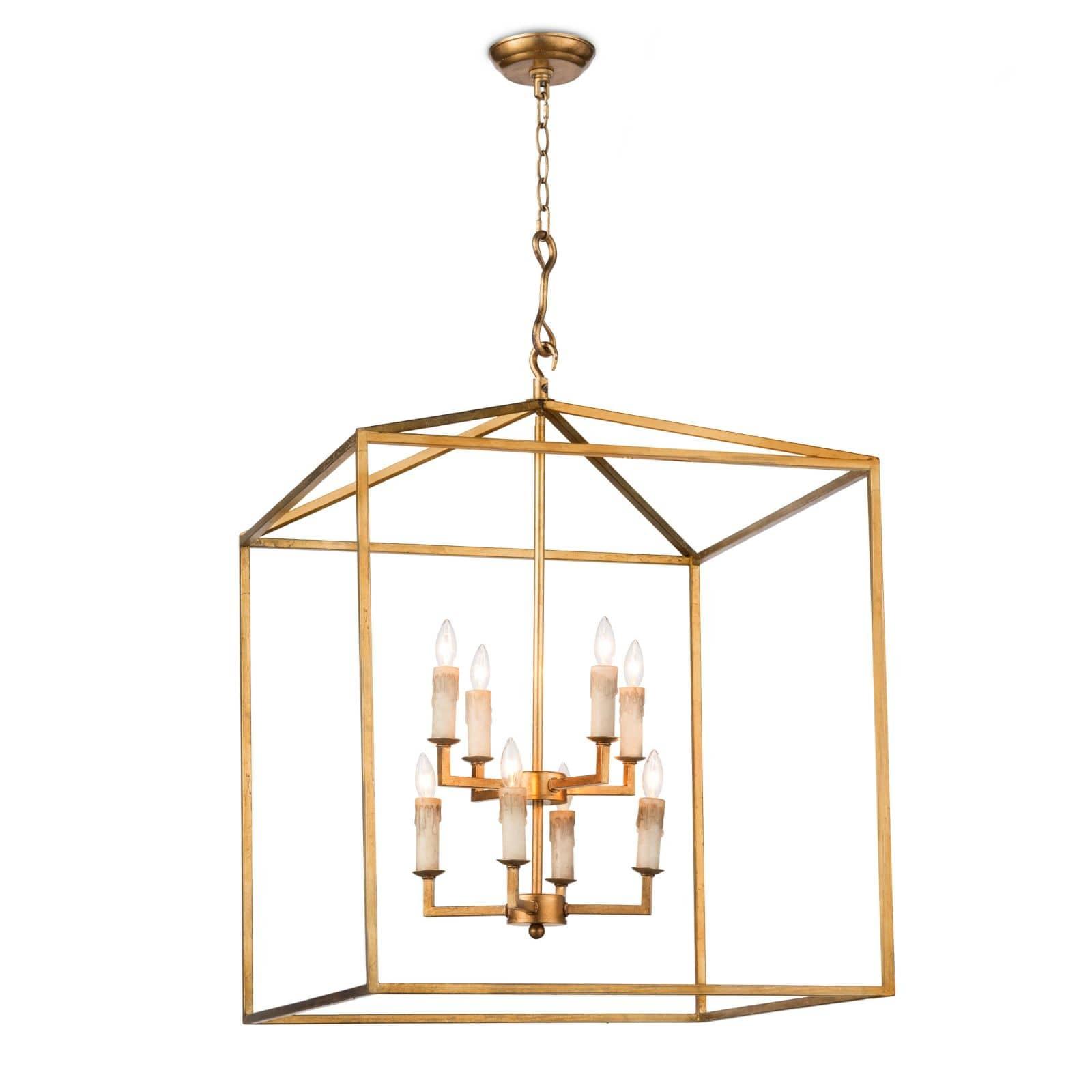 Cape Lantern Antique Gold Leaf | Regina Andrew