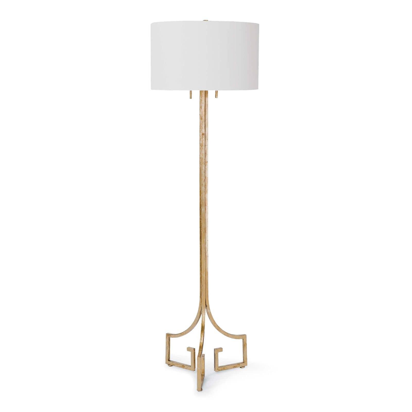 Le Chic Floor Lamp Antique Gold Leaf | Regina Andrew