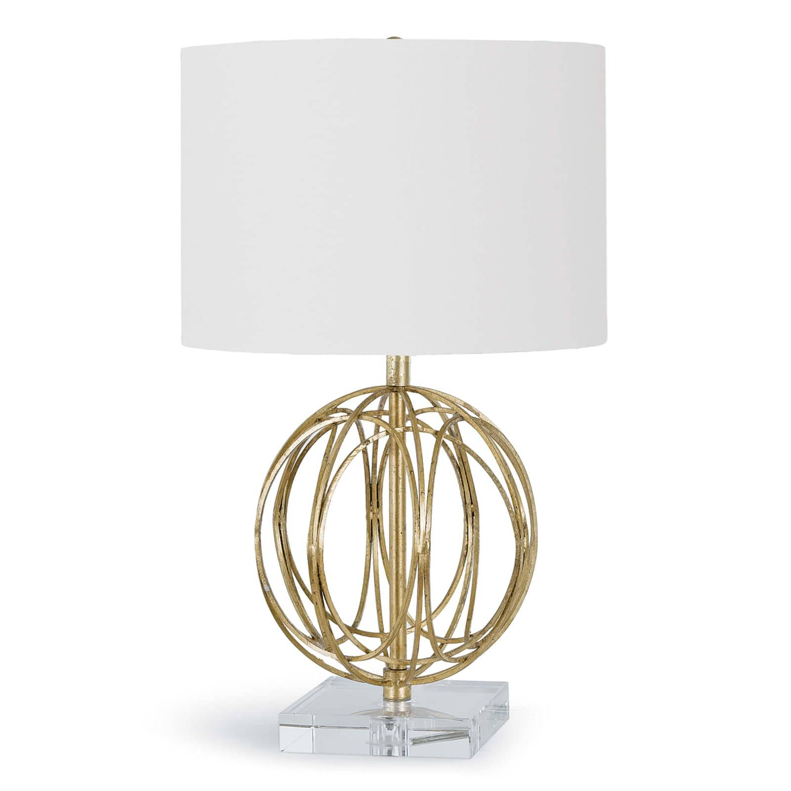 Ofelia Table Lamp Gold Leaf | Regina Andrew