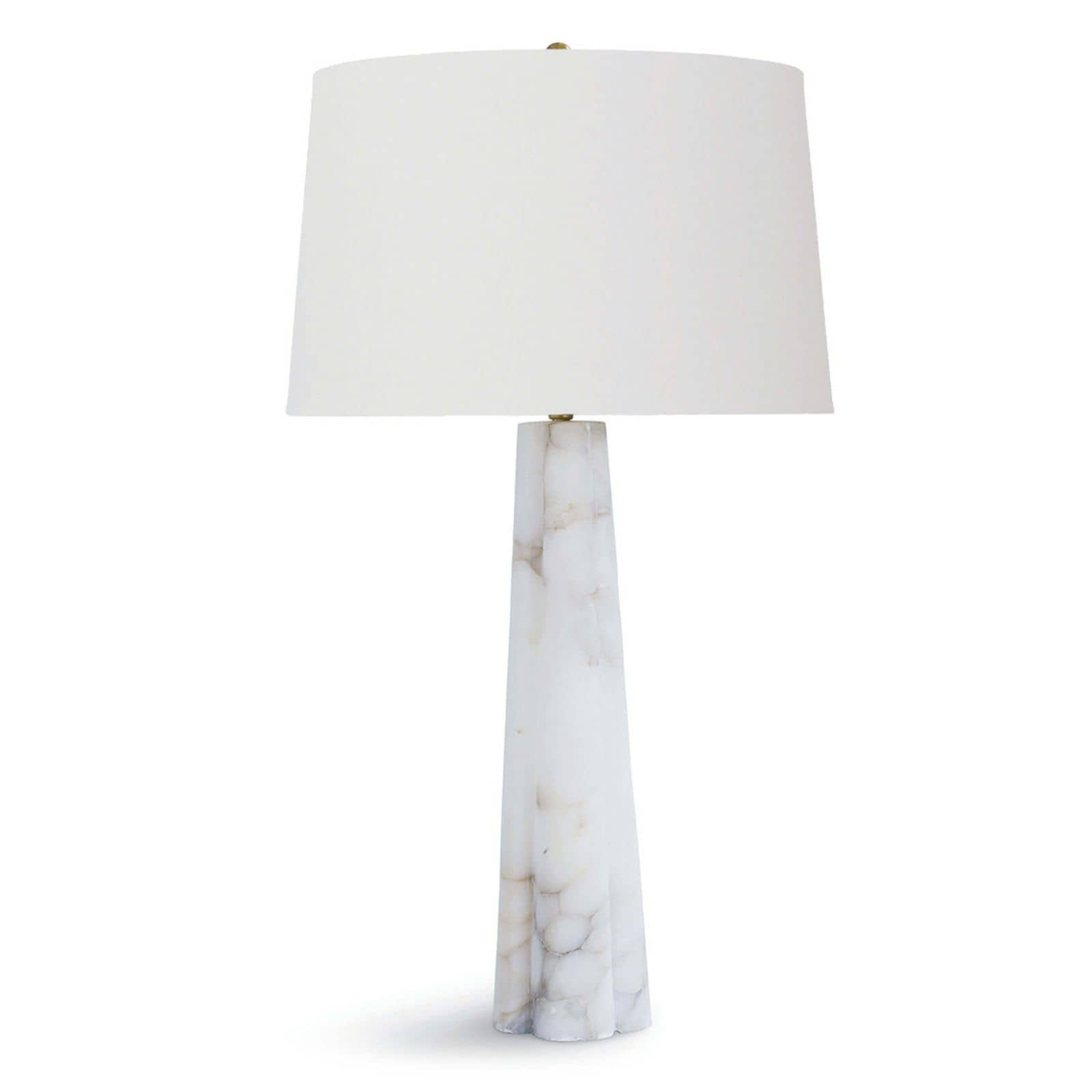 Quatrefoil Alabaster Table Lamp Large | Regina Andrew
