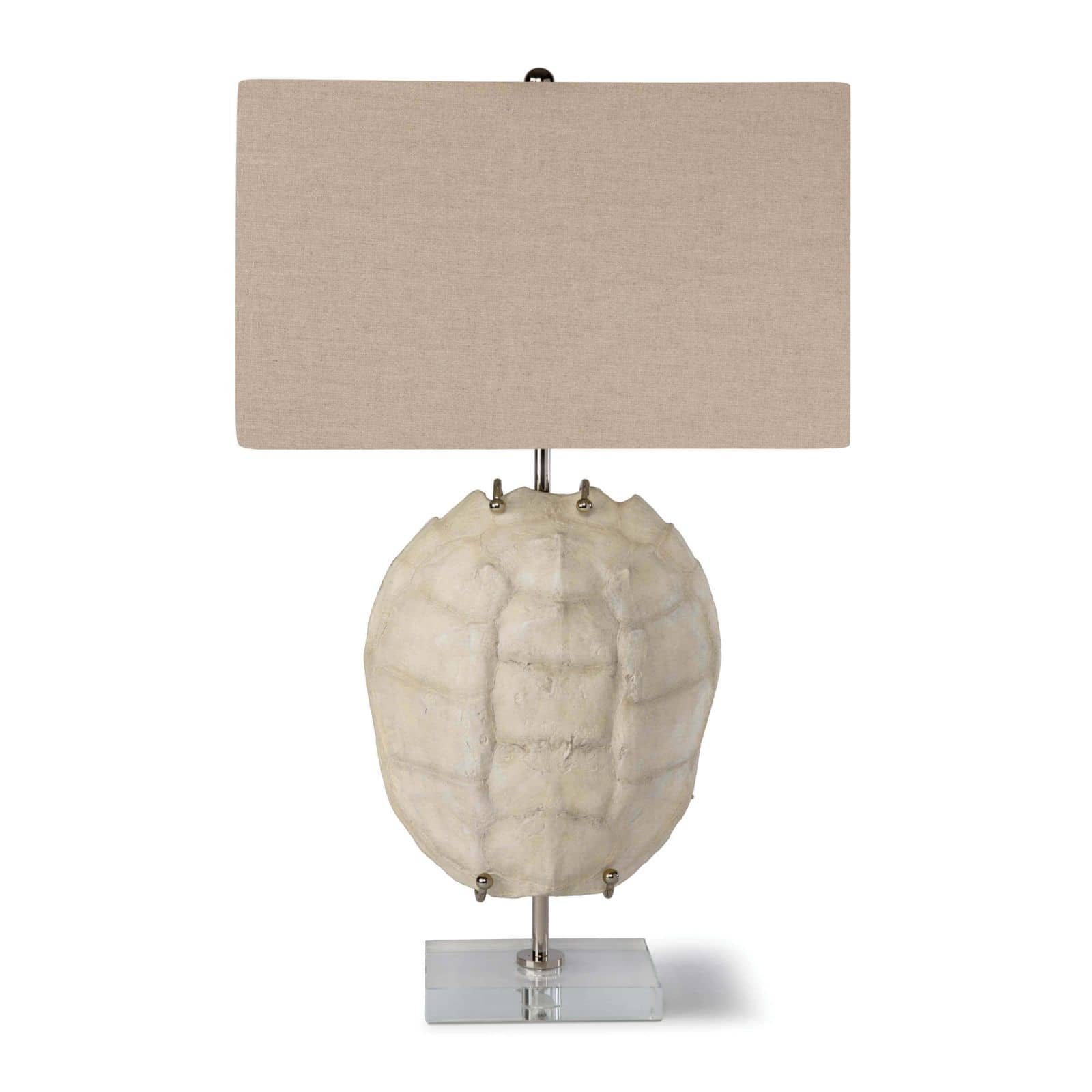 Turtle Shell Exhibit Table Lamp Bleached | Regina Andrew