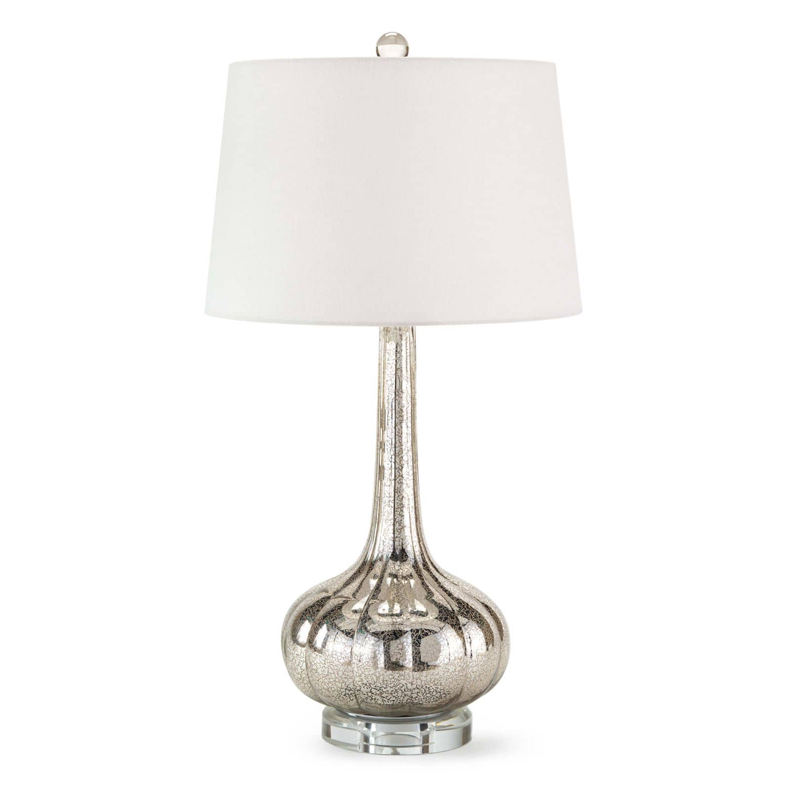 Milano Table Lamp Antique Mercury | Regina Andrew