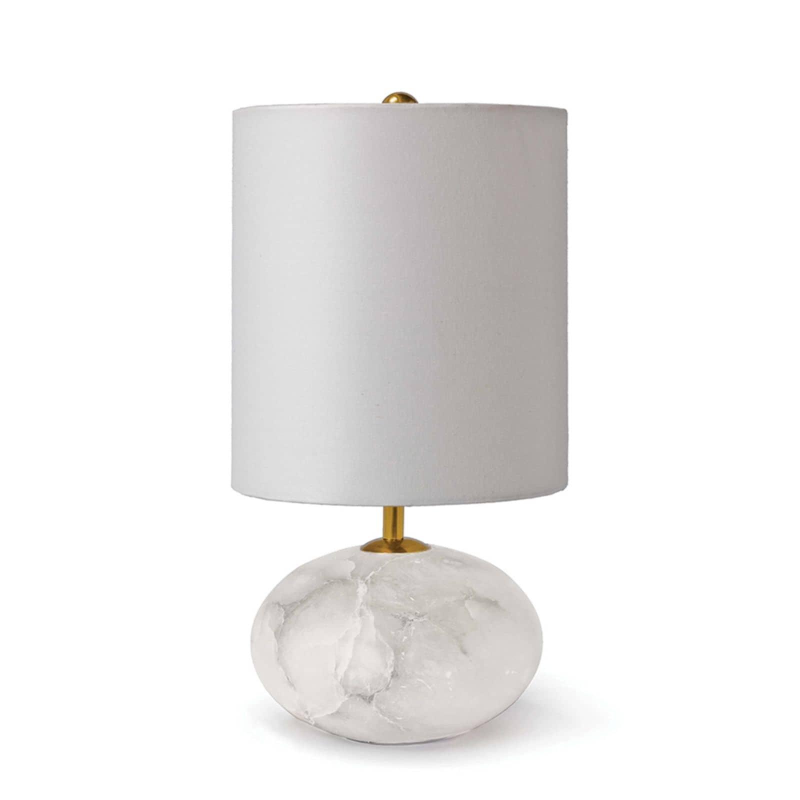 Alabaster Mini Orb Lamp | Regina Andrew