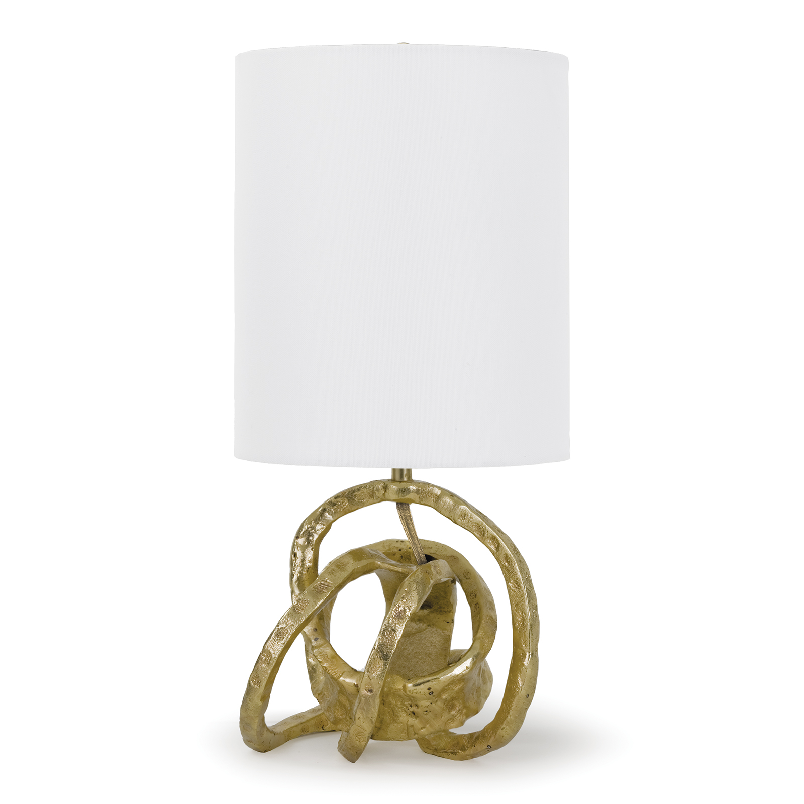 Mini Knot Lamp Soft Gold | Regina Andrew