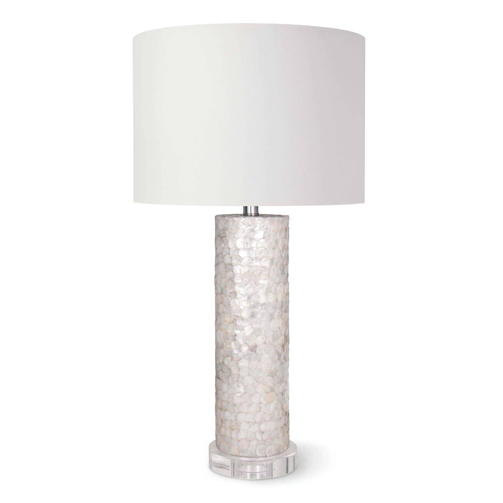 Scalloped Capiz Table Lamp | Regina Andrew