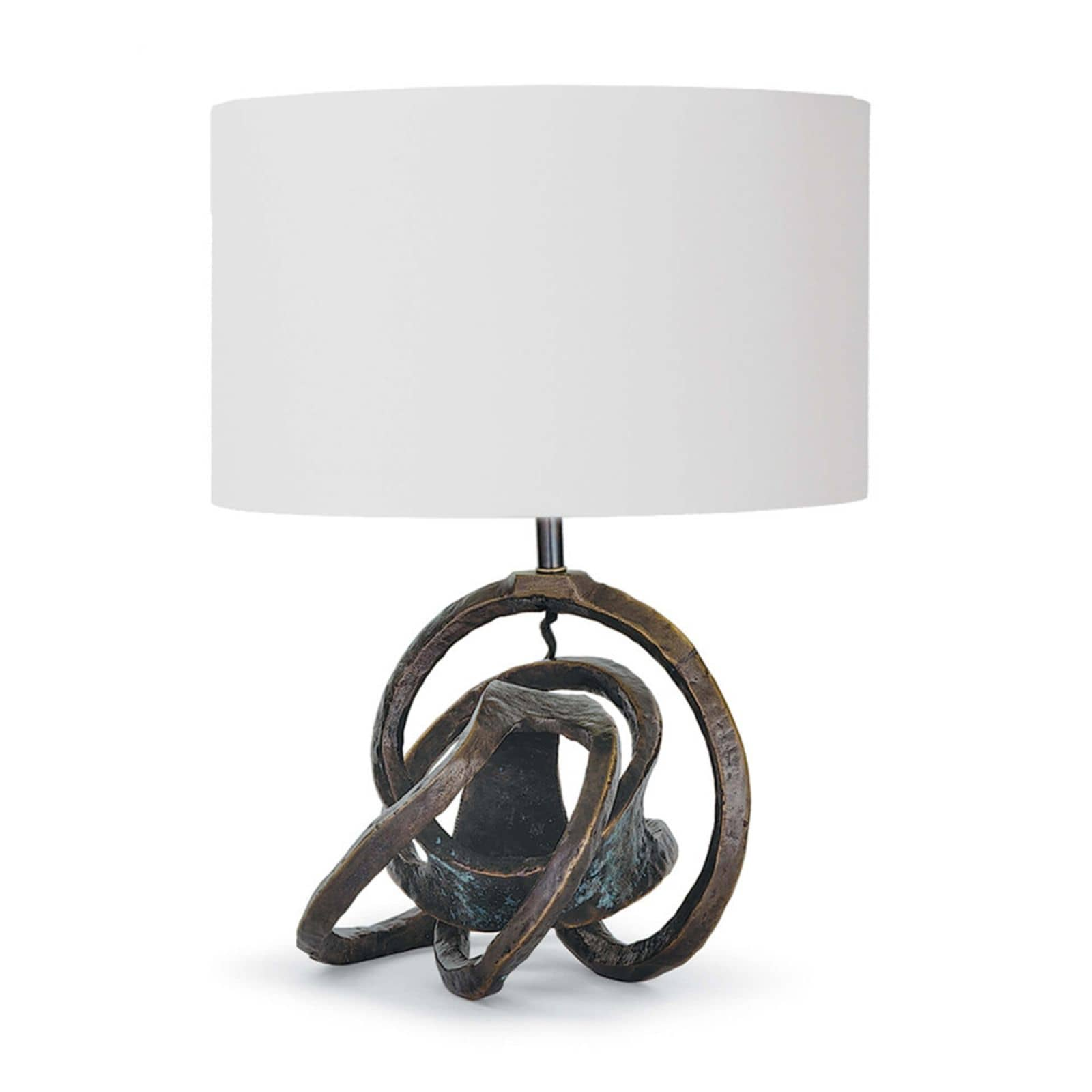 Knot Table Lamp Bronze | Regina Andrew