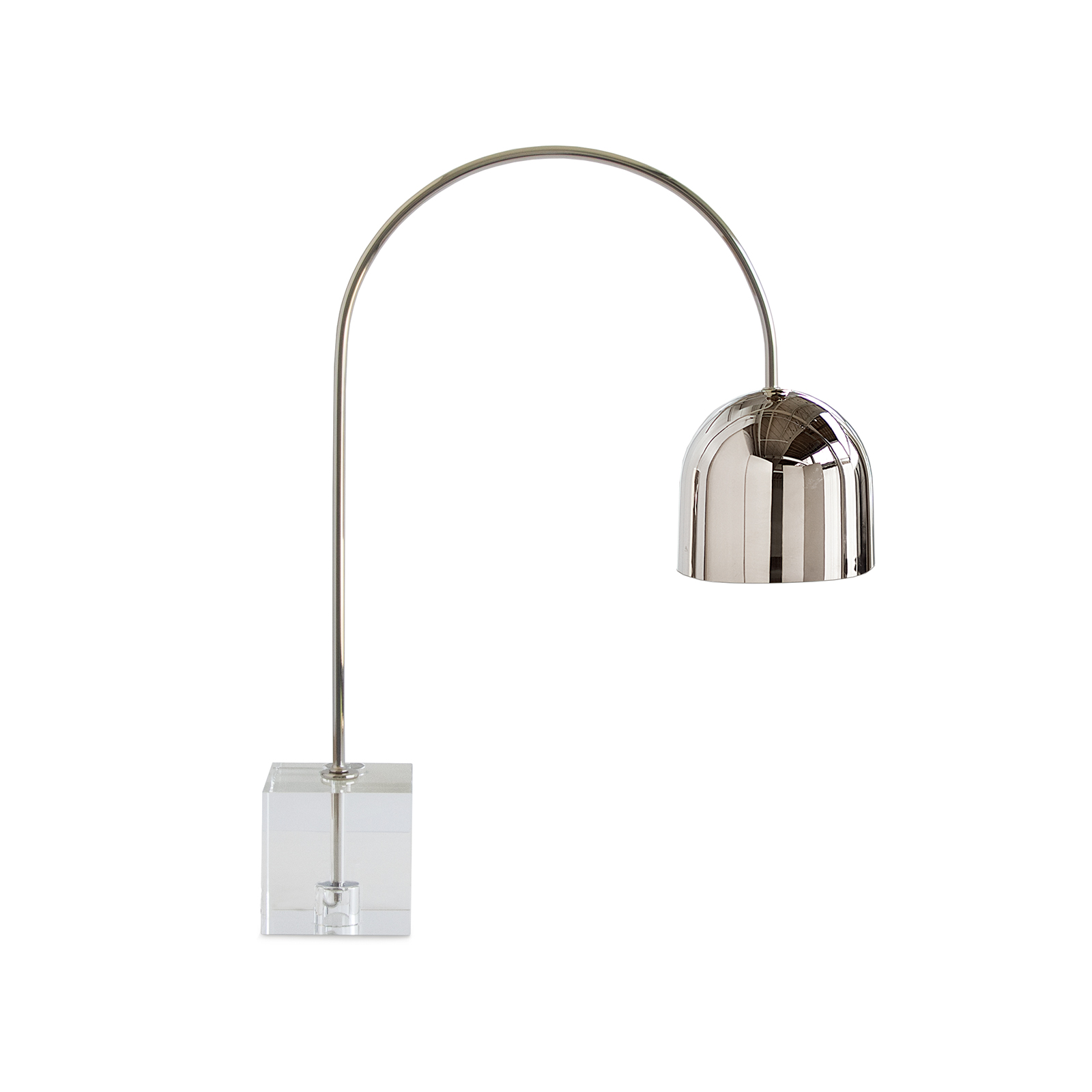 Monroe Task Lamp Polished Nickel | Regina Andrew