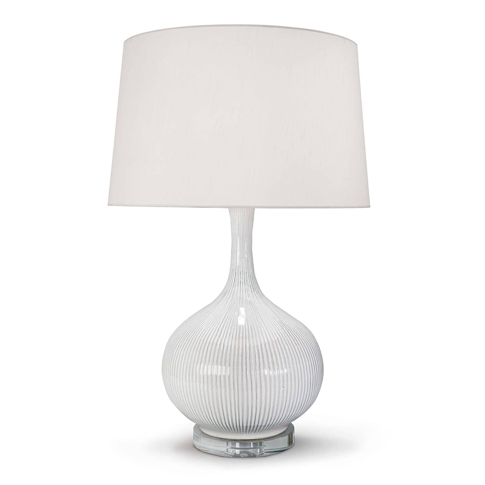 Ivory Ceramic Table Lamp | Regina Andrew
