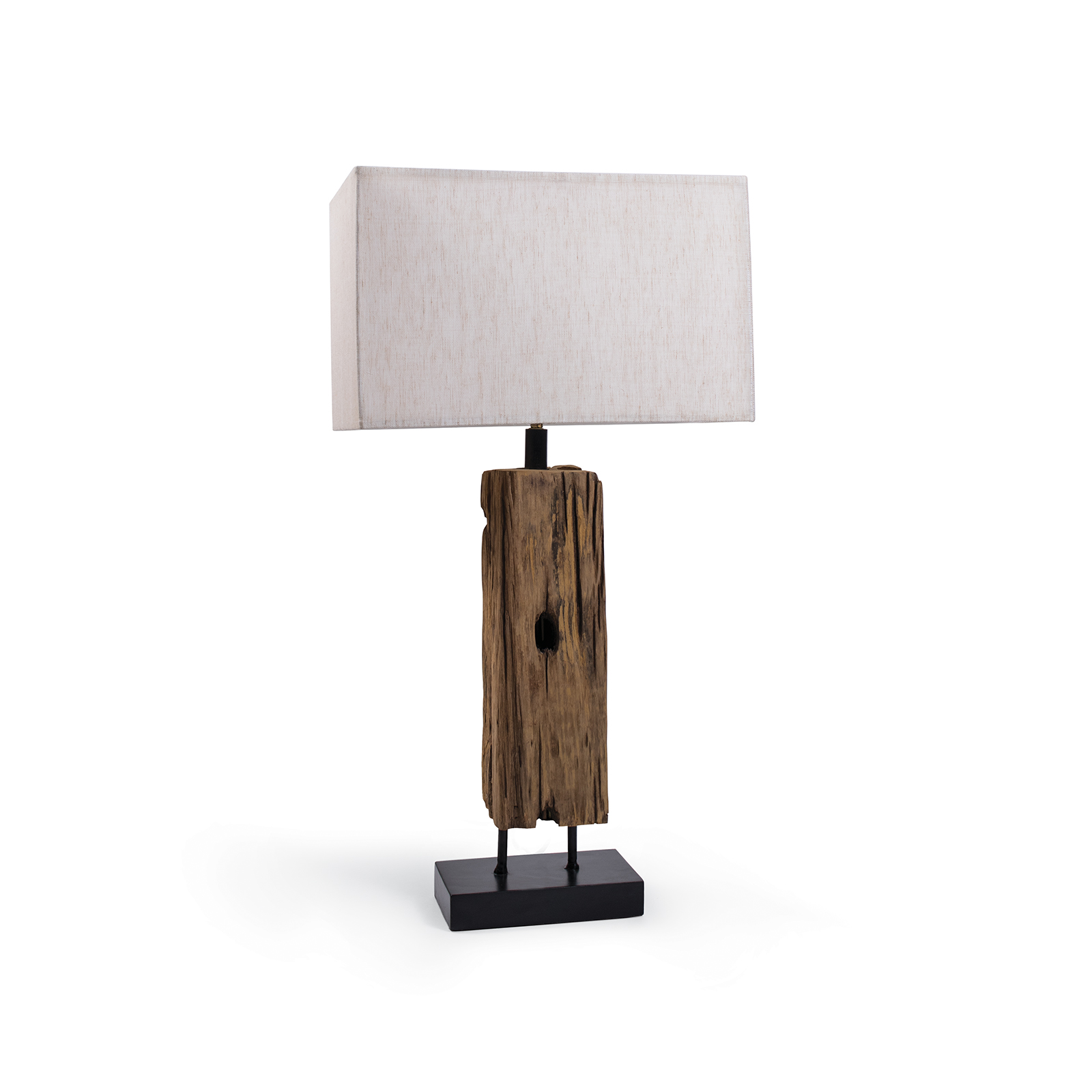 Reclaimed Wood Table Lamp | Regina Andrew