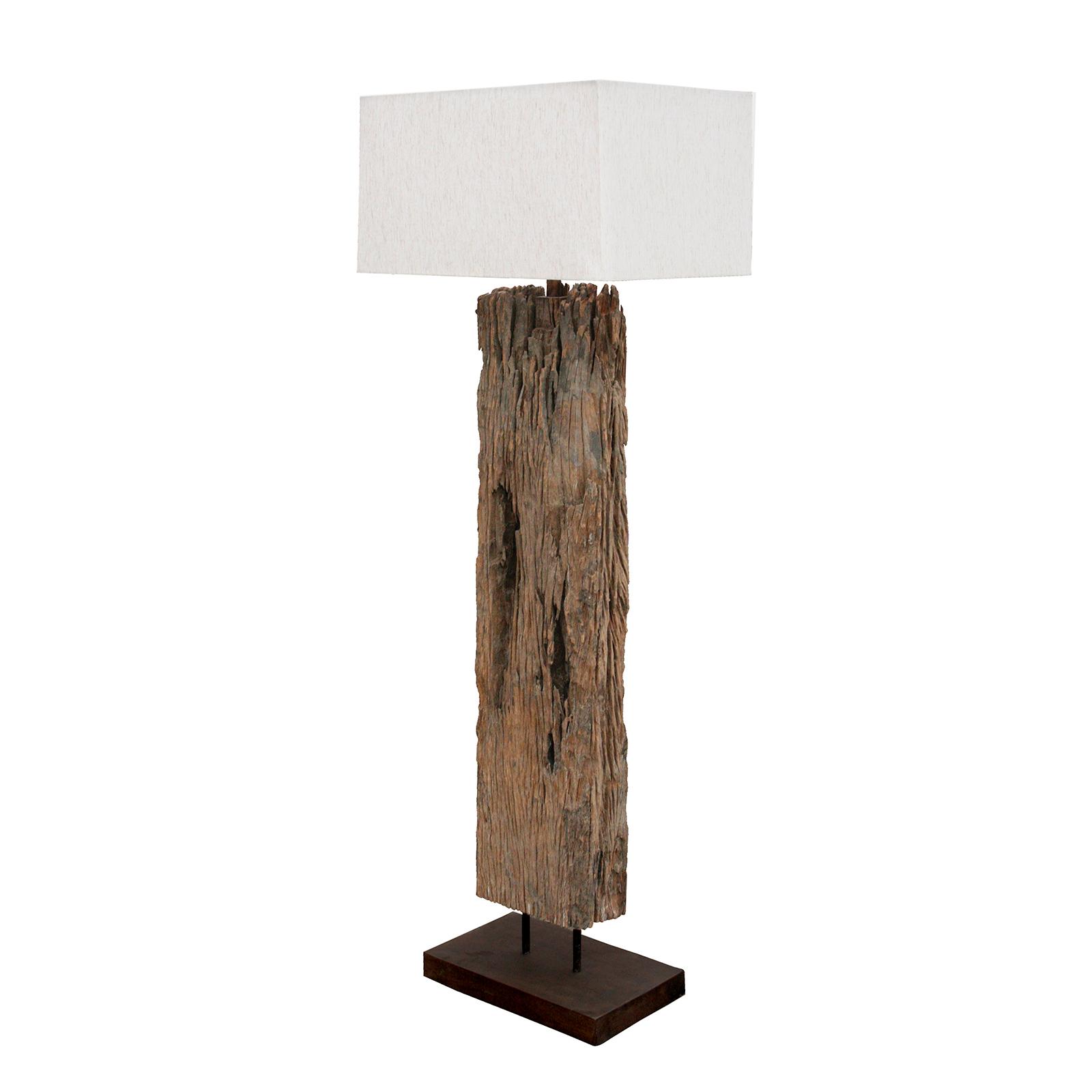Reclaimed Wood Floor Lamp | Regina Andrew