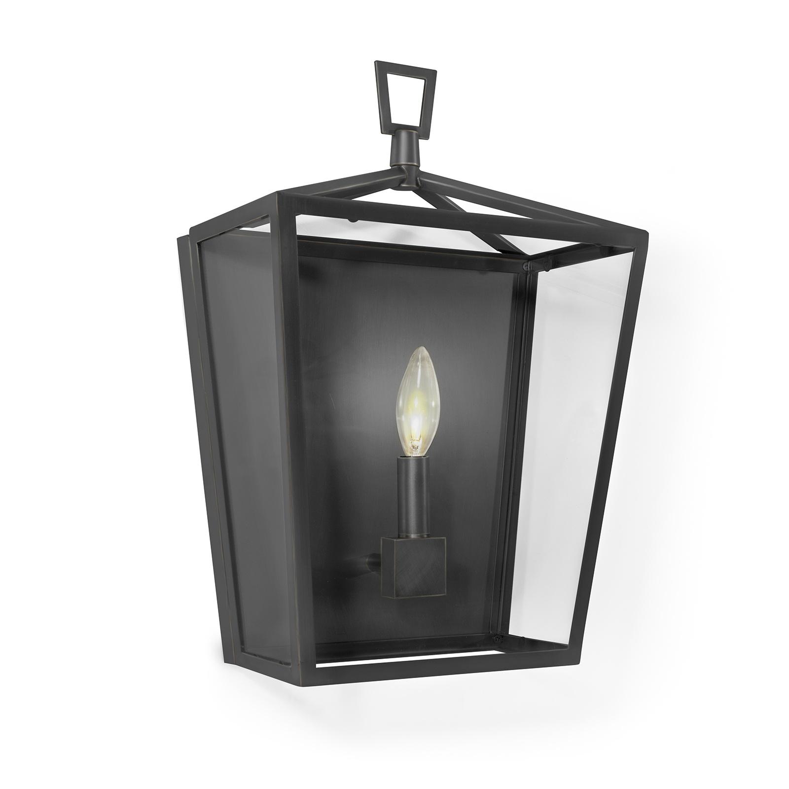 Camden Lantern Sconce Oil Rubbed Bronze | Regina Andrew