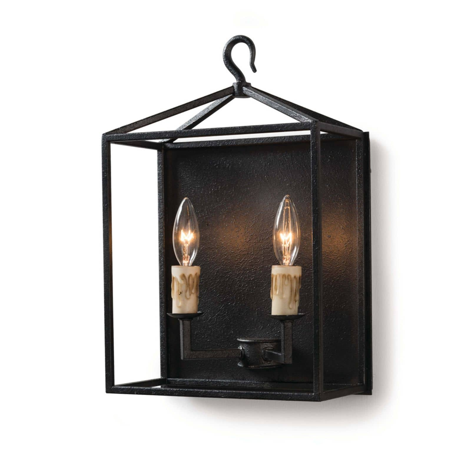 Cape Sconce Blackened Iron | Regina Andrew