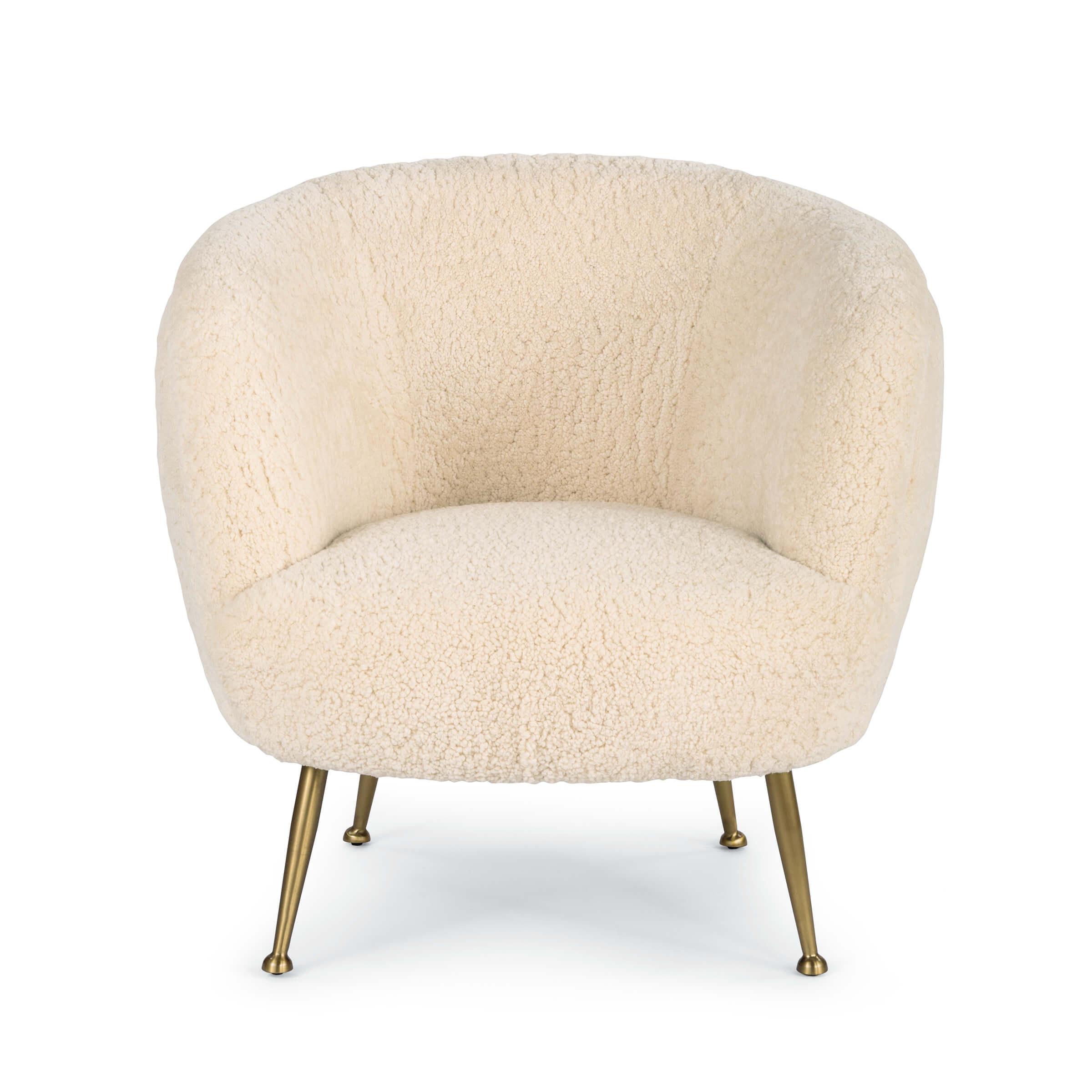 Beretta Sheepskin Chair   Regina Andrew