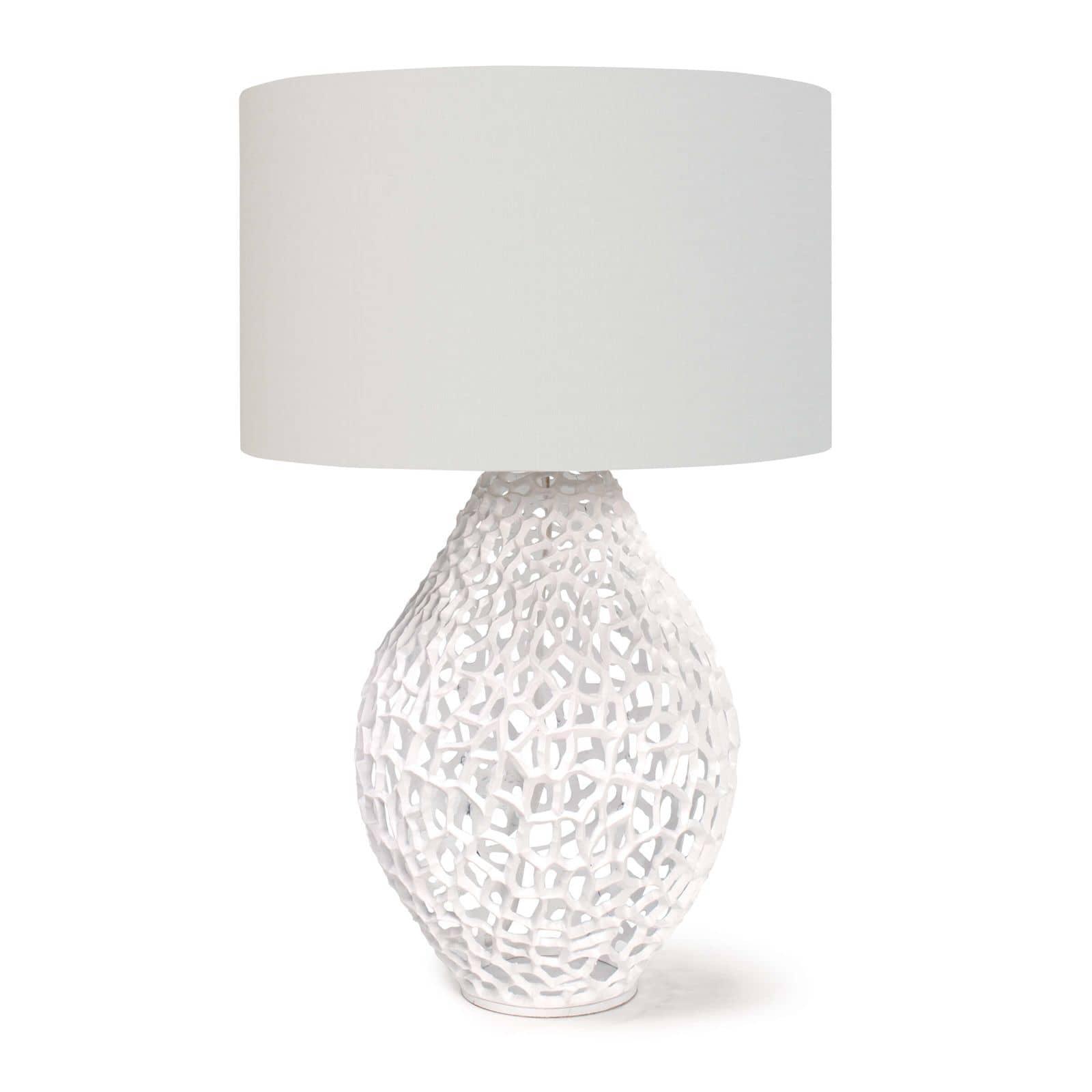 Jett Table Lamp White   Regina Andrew