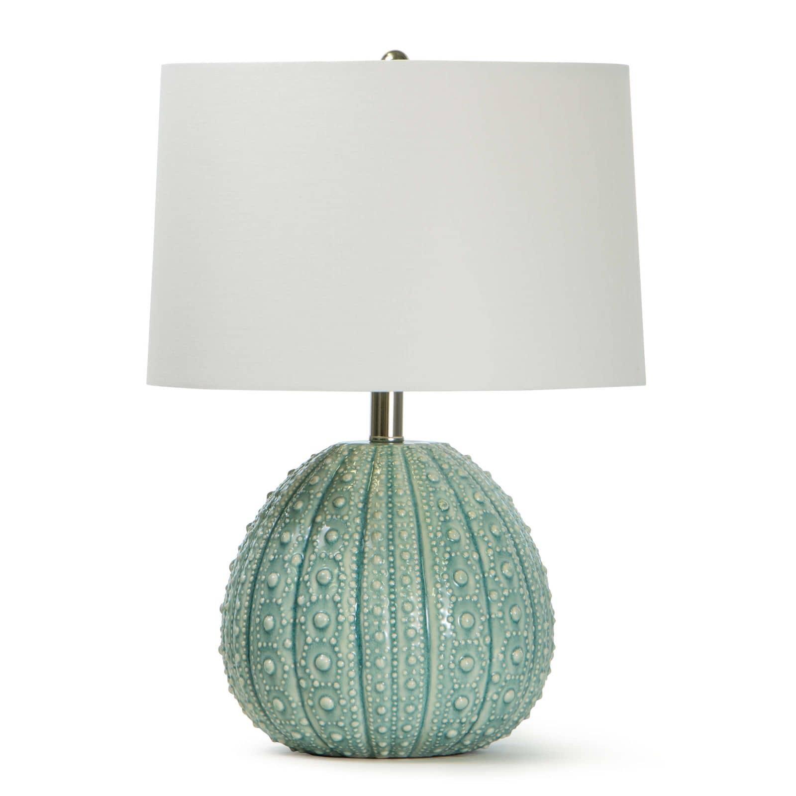 Sanibel Ceramic Table Lamp Sea Foam | Regina Andrew