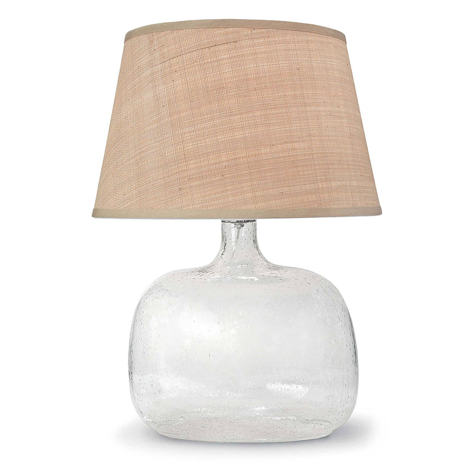 Seeded Oval Glass Table Lamp | Regina Andrew