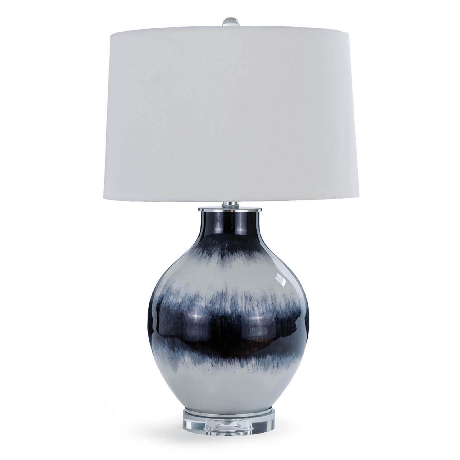 Indigo Glass Table Lamp | Regina Andrew
