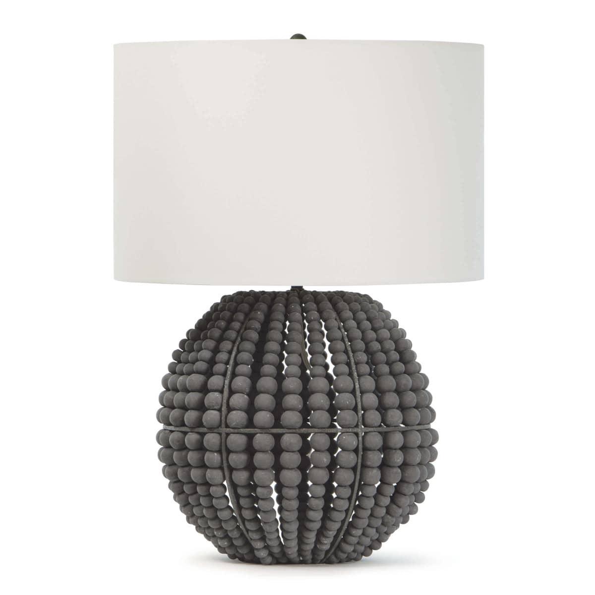 Tropez Table Lamp Grey | Regina Andrew
