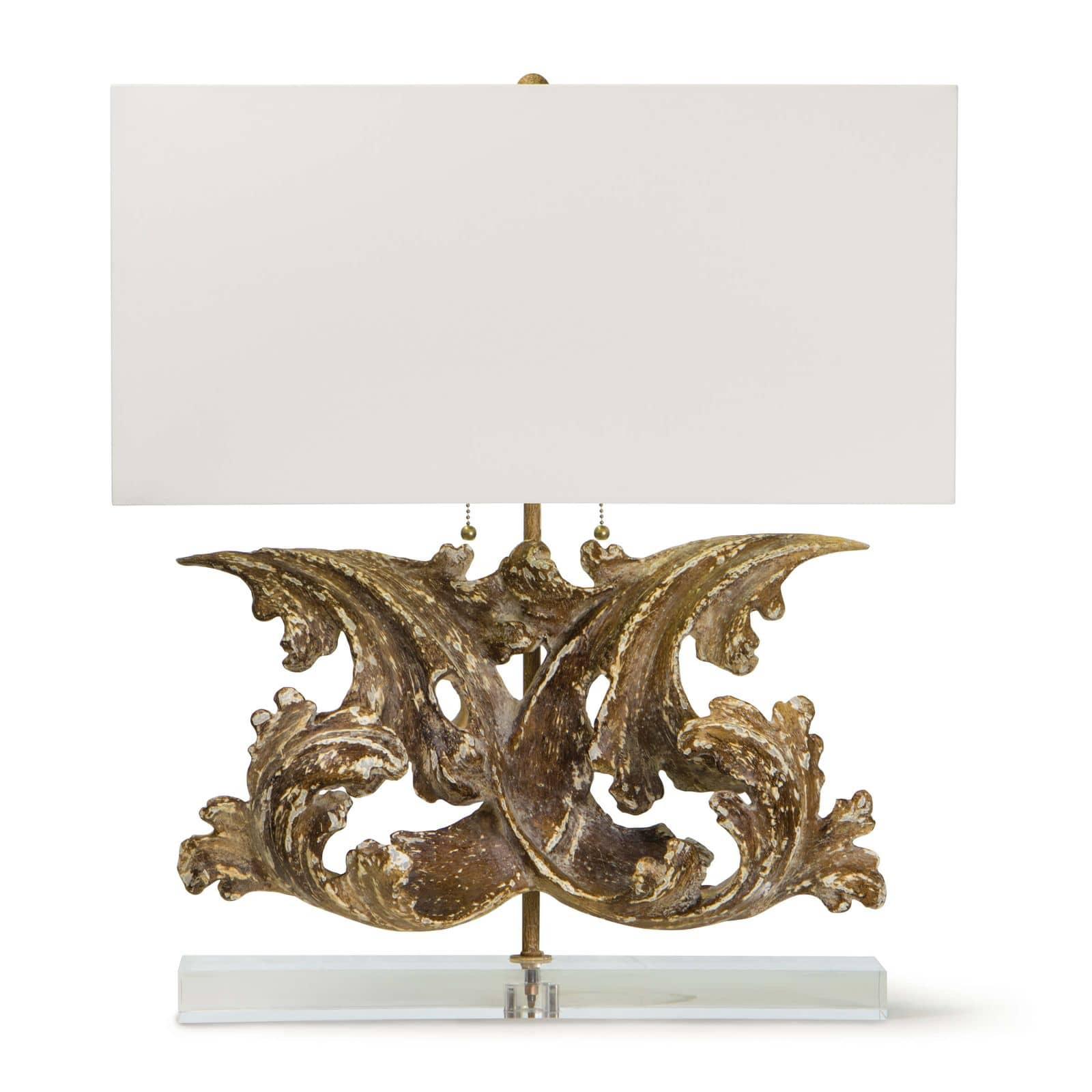 Scroll Table Lamp | Regina Andrew