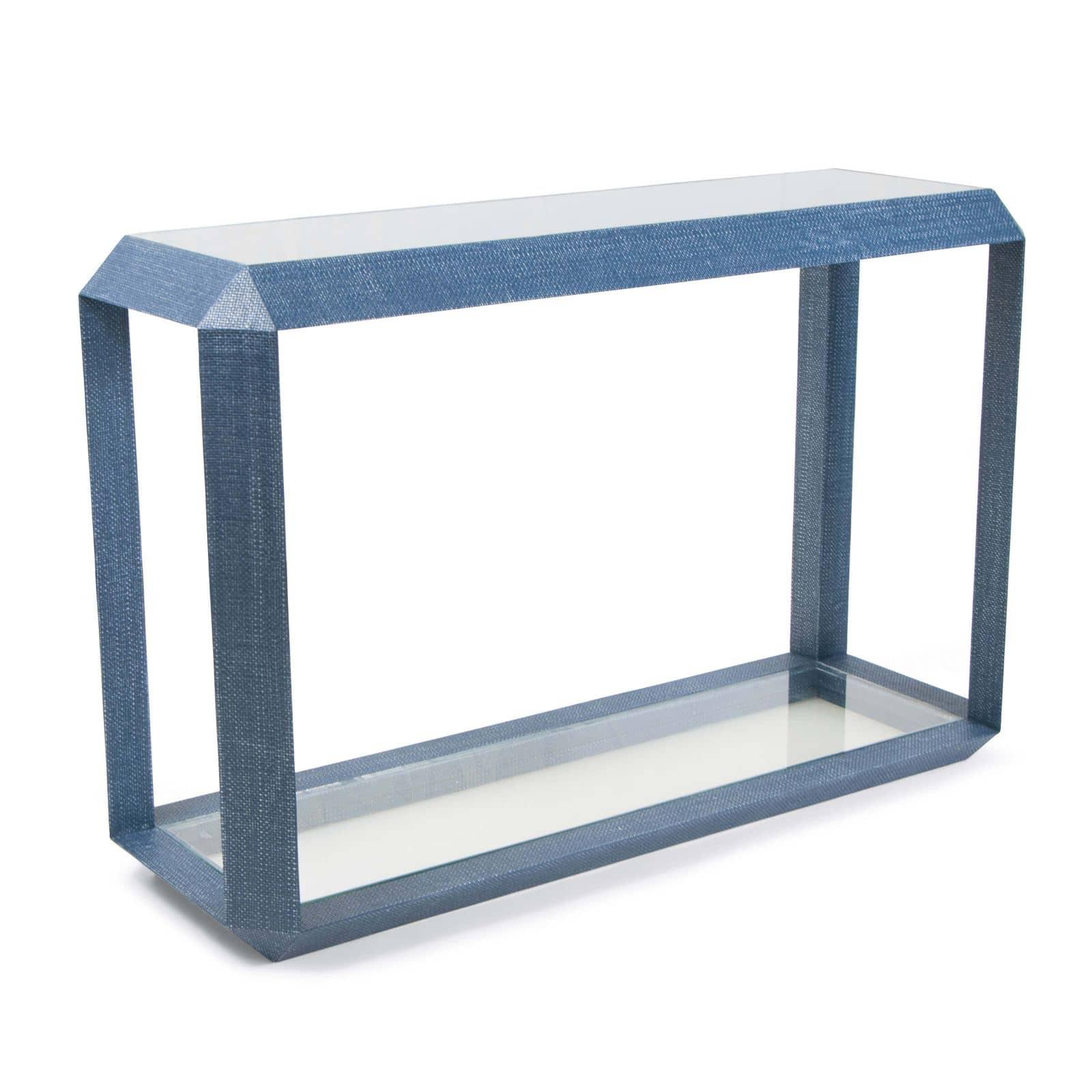 Aegean Console Table Indigo | Regina Andrew
