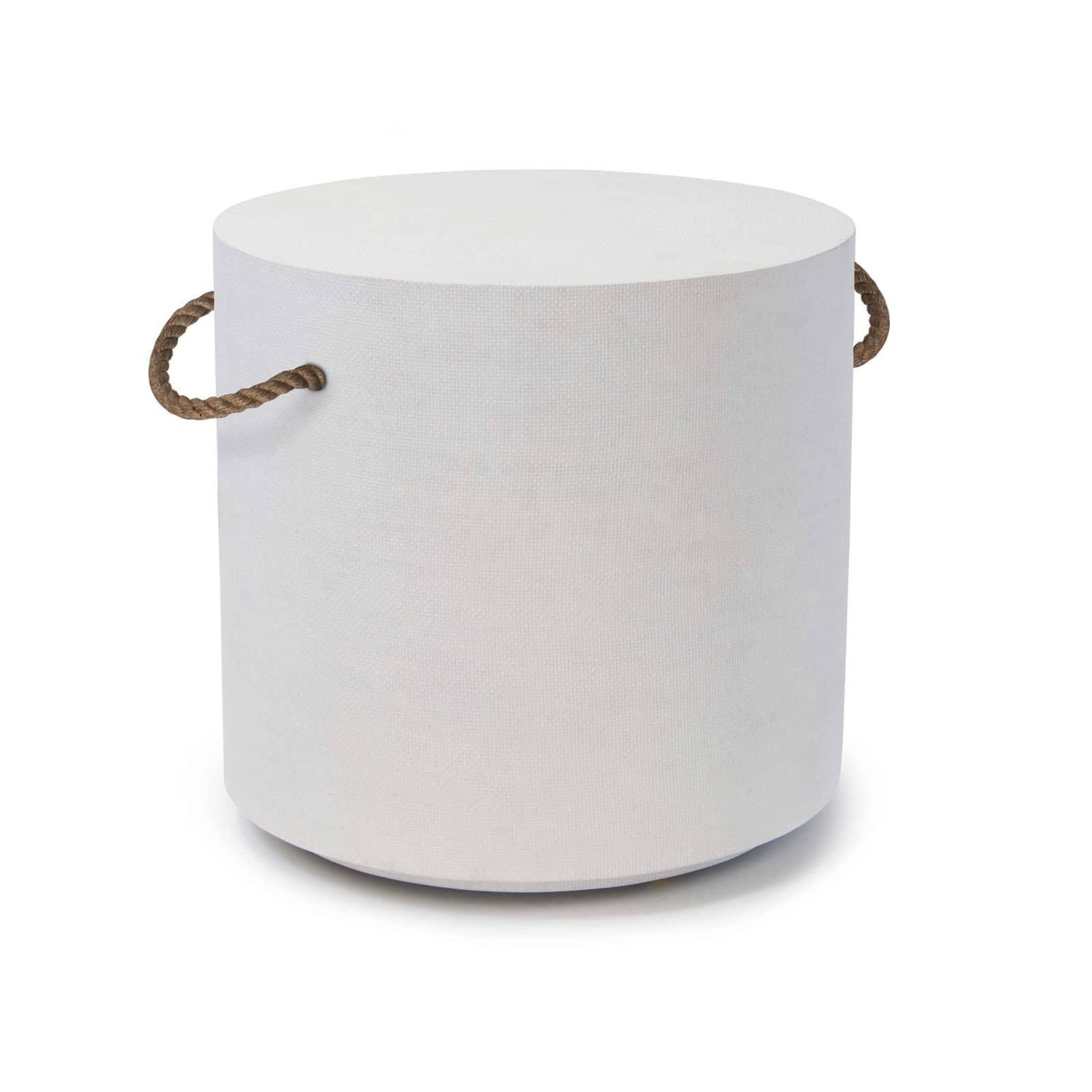Aegean Round Table White | Regina Andrew