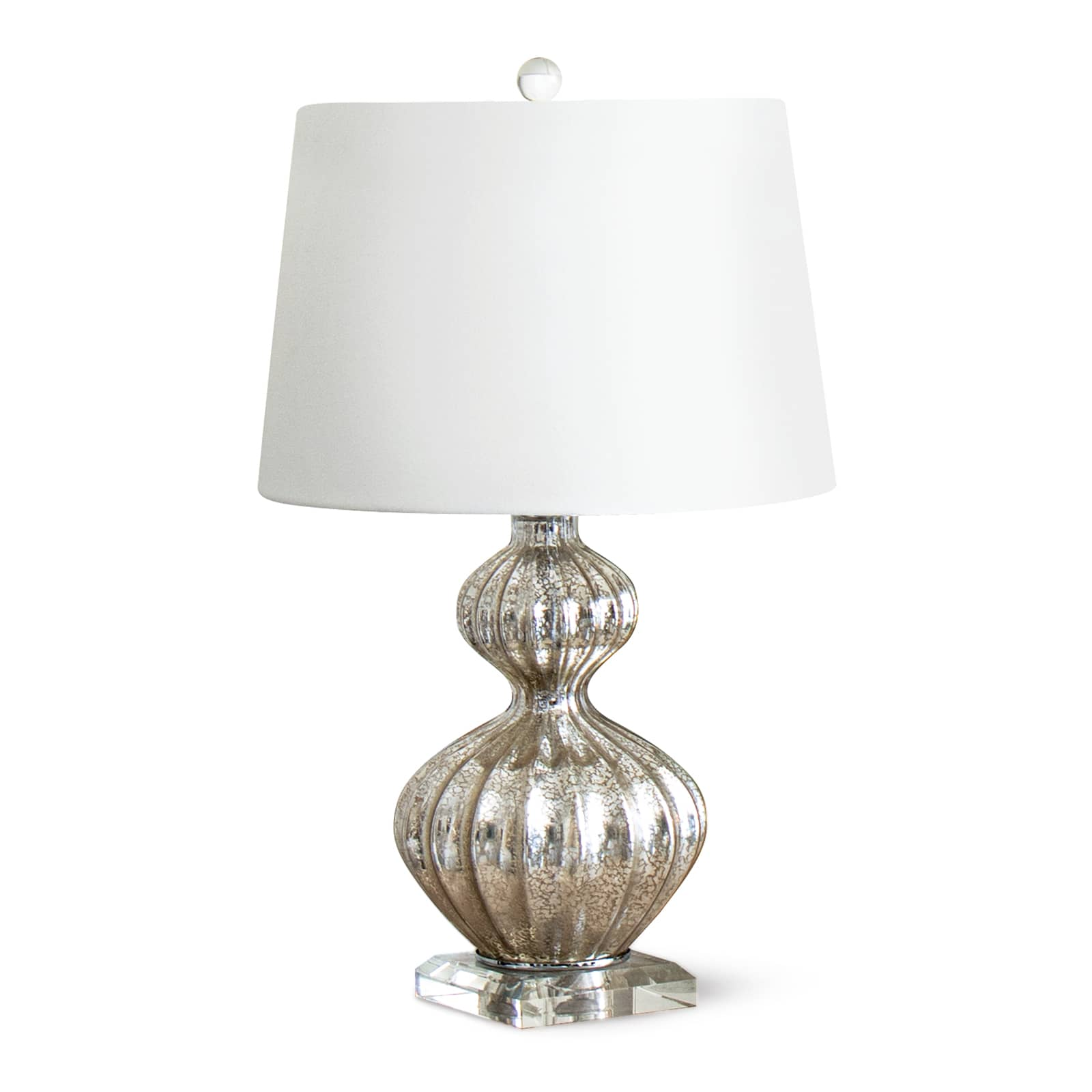 Ripple Table Lamp Antique Mercury | Regina Andrew
