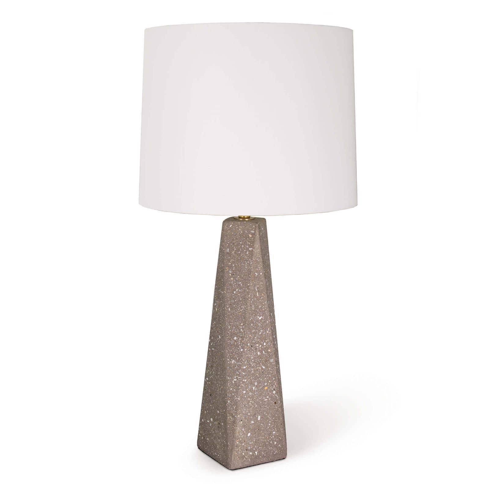 Angelica Concrete Table Lamp Small | Regina Andrew