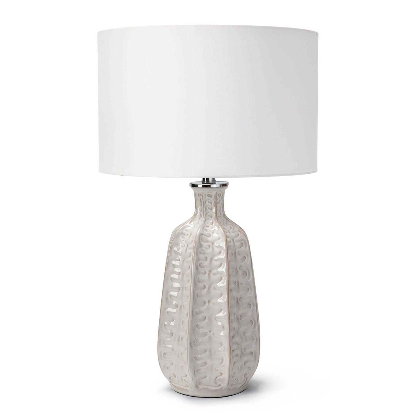 Antigua Ceramic Table Lamp Ivory | Regina Andrew