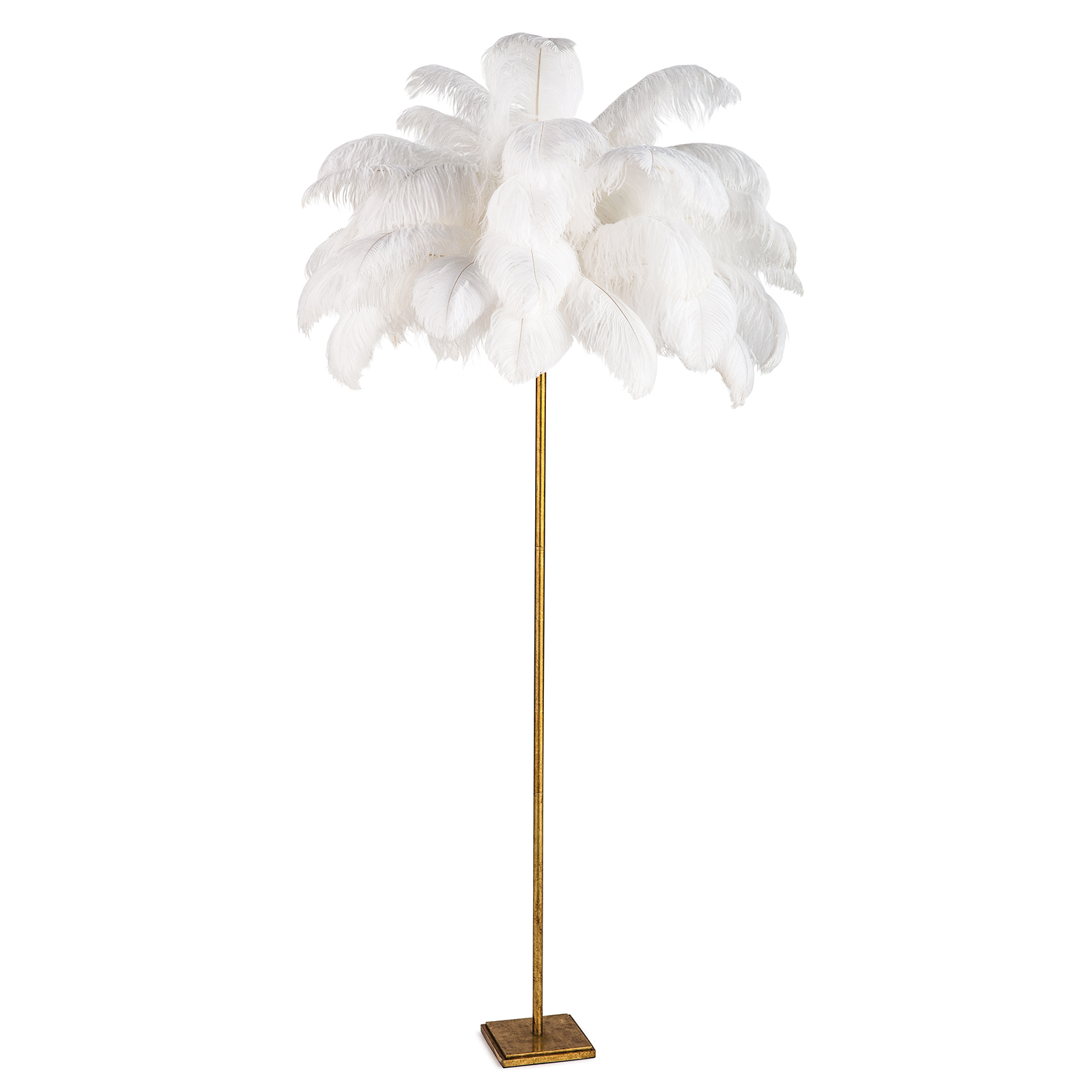 Josehine Feather Floor Lamp | Regina Andrew