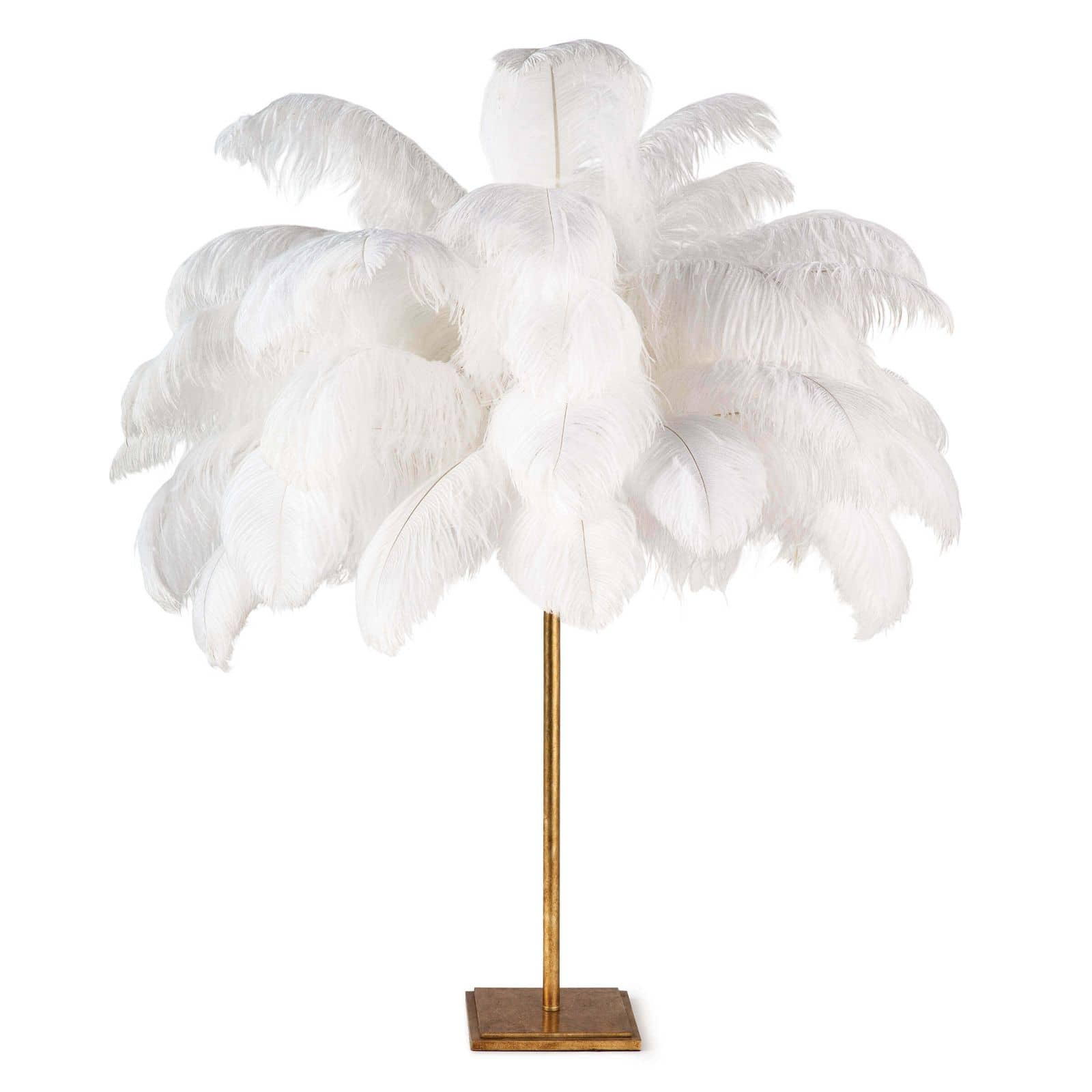 Josehine Feather Table Lamp | Regina Andrew
